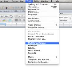 How To Make Mailing Labels Using Word 2011 Podfeet Podcasts