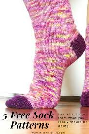 Sock Patterns New Five More Free Sock Patterns To Distract You From What You Really