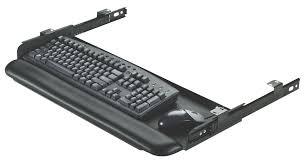 rightangle 2450ckm under desk steel keyboard drawer inside holder for decorations 11