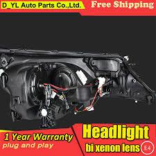 Car Styling Headlights For Toyota RAV4 2013 2015 LED Headlight ...