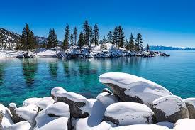 We provide information on california and nevada ski resorts. Winter Wave Sand Harbor Lake Tahoe By Brad Scott Photograph By Brad Scott