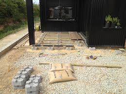 Nivrem Com Structure Terrasse Bois Sur Plot Beton Diverses
