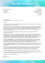 Cover Letter Examples By Real People Solar Pvs Business Dev