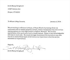 Letter of Re mendation Format 21