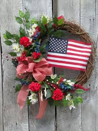 patriotic wreaths for front doorThe 41 best images about Wreaths on Pinterest  Red white blue