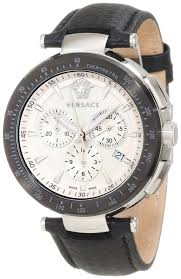 best watches for men versace men s i8c99d001 s009 mystique versace men s i8c99d001 s009 mystique stainless steel black leather chronograph watch