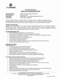 System Administrator Resume Pics Includes A Snapshot Of The Skills