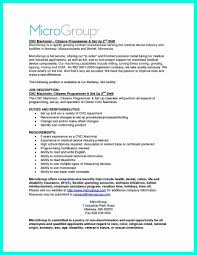 Cnc Machinist Resume Inspirational Human Resources Manager Resume