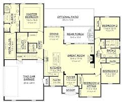 cypress lake house plan bonus rooms open concept and pantry plans room fa with wrap around
