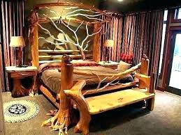 log bed frame queen – destinostravel