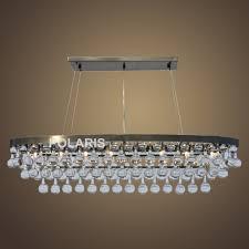 Us 57624 51 Offfactory Outlet Modernen Kristall Kronleuchter Beleuchtung Oval Kronleuchter Antike Messing Anhänger Hängen Licht Für Dekoration In