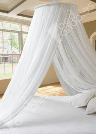 Silk Bed Canopy