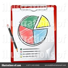 Pie Chart Clipart 29076 Illustration By Beboy