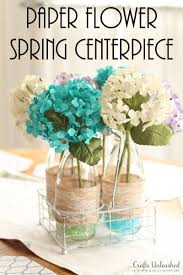 Paper Flower Wedding Decorations Paper Flower Spring Diy Centerpieces Crafts Unleashed For Home Paper
