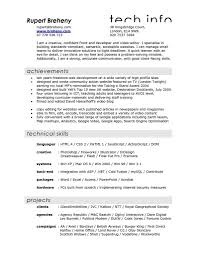 Film Resume Template Best Of Resume Examples Examples Of Resumes
