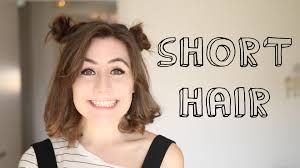 Hairstyle Ideas For Short Hair short hairstyles youtube 1778 by stevesalt.us