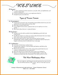 Most Popular Resume Format Inspiration Resume Format For Freshers Free Download Three Most Common Formats