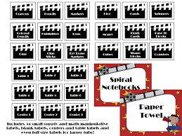 diary of a not so wimpy teacher a reely great hollywood theme bundle now editable