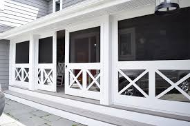 front porch sliding doors