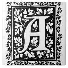 Decorative Letter Tiles Illuminated Letter Tiles Illuminated Letter Decorative Ceramic 2