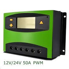 Talkers Solar Charge Controller-PWM <b>12V</b>/24V <b>50A</b> | Konga Online ...