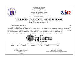 High School Diploma Sample Under Fontanacountryinn Com