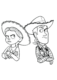 Toy Story Free Coloring Pages