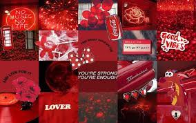 Aesthetic Laptop Red Wallpapers ...