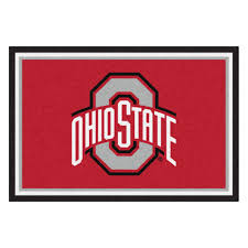 Ohio State Bedroom Ohio State University Area Rugs Rugs Flooring The Home Depot