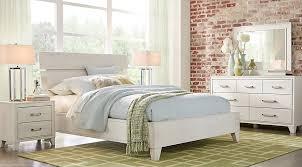 white bedroom sets. Crestwood Creek Ivory 7 Pc Queen Panel Bedroom - Sets Light Wood White E