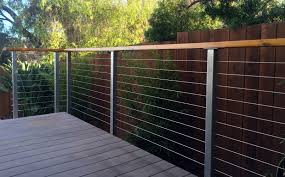 cable rail fence diy fences design throughout sizing 3219 x 2006