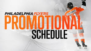 Flyers Theme 2018 19 Promotional Schedule Announced