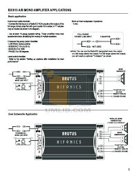 hifonics brutus wiring diagram hifonics image pdf manual for hifonics car amplifier brutus bxi 1610d on hifonics brutus wiring diagram