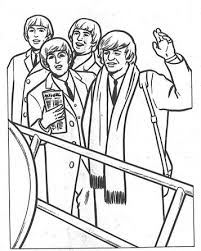 Kids N Fun 14 Kleurplaten Van Beatles
