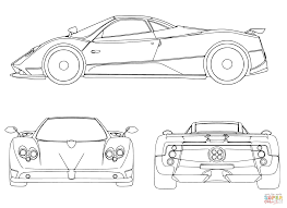 Small Picture Sport Car coloring page Free Printable Coloring Pages