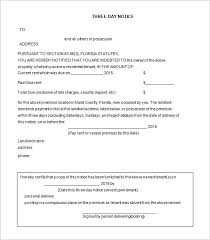 Eviction Notices Template Eviction Notice Template 100 Free Word PDF Document Free 9