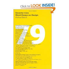 seventy nine short essays on design every essay is in a  seventy nine short essays on design every essay is in a different font
