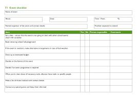 Checklist For School Event Checklist For School Gardens