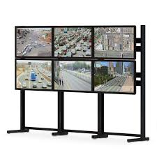 Flat Screen Display Stand Six Flat Screen Monitor Floor Stand afcindustries 100