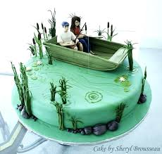 Grooms Cake Ideas Hunting Fishing Vacation Home Decorating Best