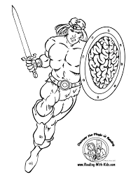 Small Picture Hero Coloring Page And Warriors Pages glumme