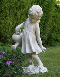 cheap garden statues. Garden Statue With Little Girl Theme. Dedicated To Outdoor Use. Suitable For Residential And Cheap Statues