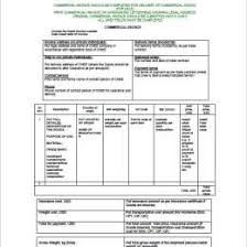 No Commercial Value Invoice Commercial 393420592457 Example Of