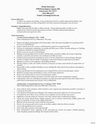Entry Level Project Manager Resume Construction Planning Manager