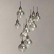lighting for lounge ceiling. buy john lewis dano led ombre glass ceiling light 10 blackchrome lighting for lounge l