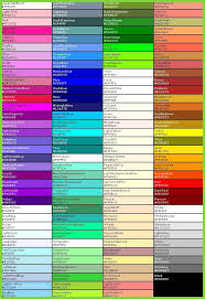Web Color Chart Names Hexadecimal Color Code Chart Marvelous Color Picker In 2019