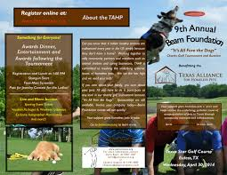 9Th Annual Golf Tournament And Auction Benefiting The Texas Alliance ...
