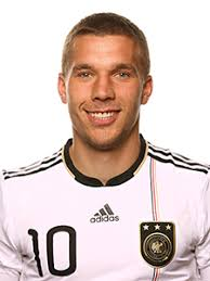 Lukas Podolski is a forward for Germany's national soccer team, also playing with FC Cologne in the Bundesliga. The 5-foot, 11-inch Podolski was named by ... - lukas-podolski