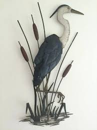 >seaside metal wall art coastal metal wall art indoor outdoor  seaside metal wall art coastal metal wall decor awesome nautical beach heron coastal metal wall decor
