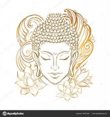 татуировка дзен буддизм будда тату векторное изображение